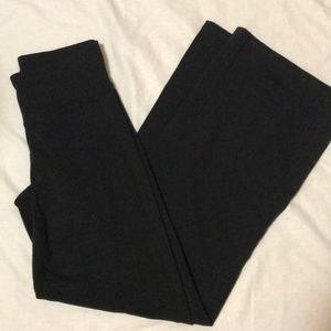 Athleta Wide Leg, High Waist Yoga Pants
